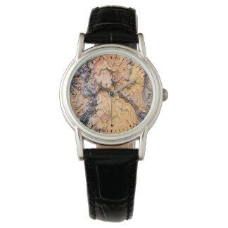 Ponderosa pine bark, Washington Wristwatch