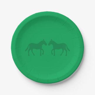 Ponies Paper Plate