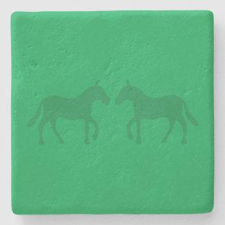 Ponies Stone Coaster