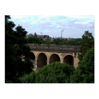 Pont Adolphe, Luxembourg Postcard