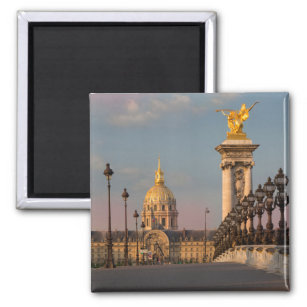 Pont Alexandre III at Dawn Magnet