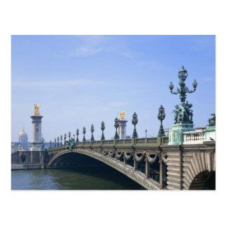 Pont Alexandre-III Bridge Postcard