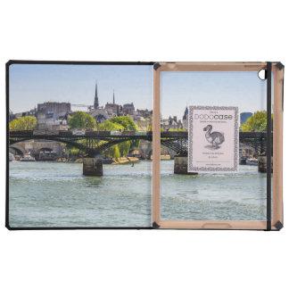 Pont Des Arts, River Seine in Paris, France iPad Case