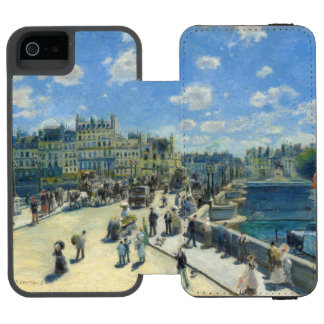 Pont Neuf Paris by Pierre-Auguste Renoir Incipio Watson™ iPhone 5 Wallet Case
