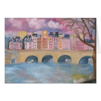 Pont Neuf : PARIS Notecard