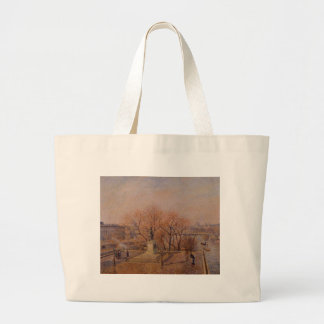 Pont Neuf, the Statue of Henri IV, Sunny Weather Large Tote Bag