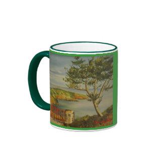 Ponta de Santa Iria* Azores Oil Painting Mug Ringer Mug