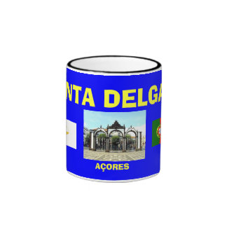 Ponta Delgada* Açores Blue Coffee Mug