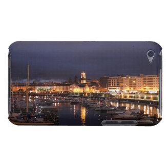 Ponta Delgada at night iPod Touch Cases