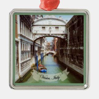 Ponte dei Sospiri Venezia Italia Souvenir Metal Ornament