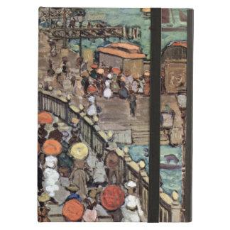Ponte Della Paglia, Venice by Maurice Prendergast iPad Air Cover