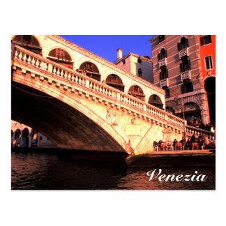 Ponte Rialto Postcard