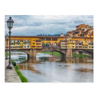 Ponte Vecchio, Florence, Italy Postcard