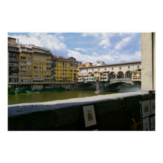 Ponte Vecchio Florence Italy Poster