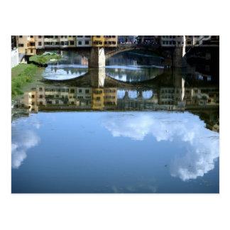 Ponte Vecchio Florence Postcard