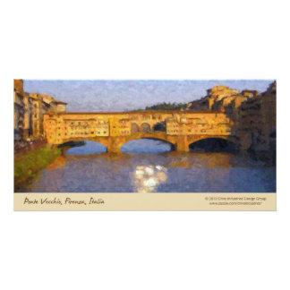 Ponte Vecchio Italian Florence Bridge Card