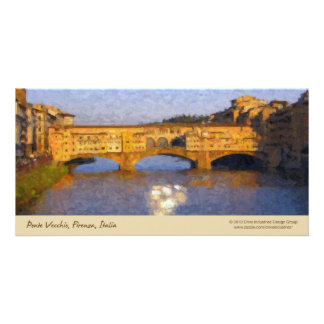 Ponte Vecchio Italian Florence Bridge Photo Cards