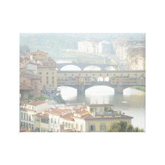 Ponte Vecchio Old Bridge Florence Italy Canvas Print