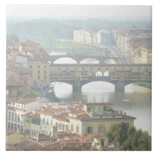 Ponte Vecchio Old Bridge Florence Italy Ceramic Tile