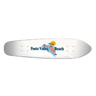 Ponte Vedra Beach. 21.3 Cm Mini Skateboard Deck
