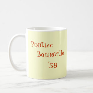 Pontiac Bonneville '58 Coffee Mug