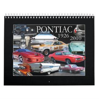 PONTIAC CALENDAR- 2011 CALENDAR