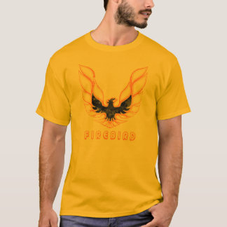 Pontiac Firebird Logo Graphic T-Shirt