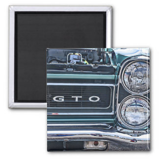 Pontiac GTO Muscle Car Magnet for the Shop