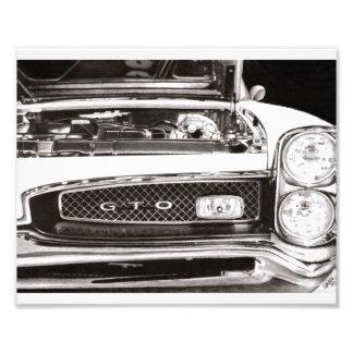 Pontiac GTO Photo Print