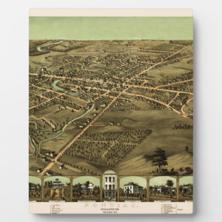 Pontiac Michigan 1867 Plaque