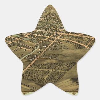 Pontiac Michigan 1867 Star Sticker