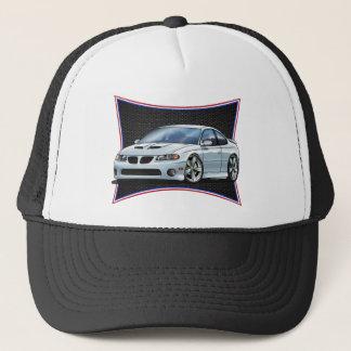 Pontiac_New_GTO_White Trucker Hat