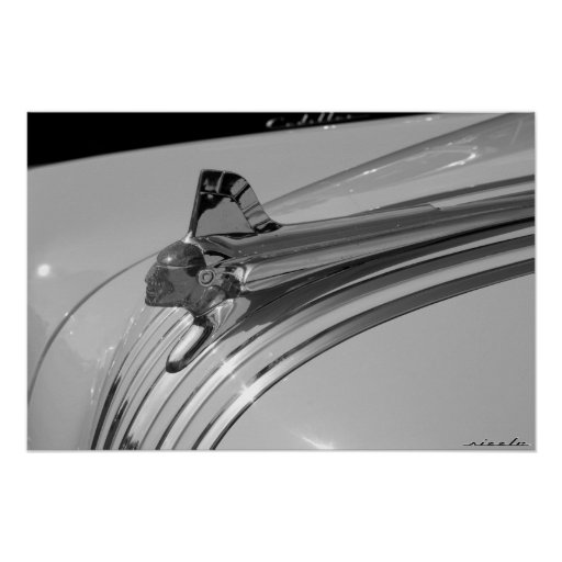 Pontiac Silver Streak Hood Ornament Print