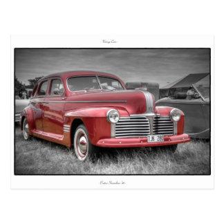 Pontiac Streamliner '41 Postcard