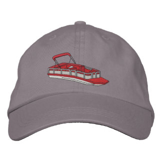 Pontoon Boat Embroidered Cap