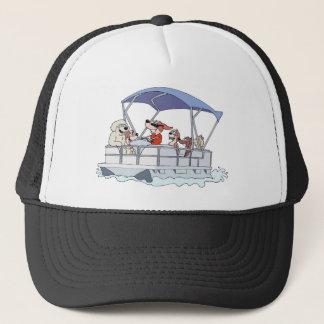 Pontoon Boat Trucker Hat