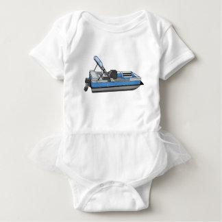 pontoon fun baby bodysuit