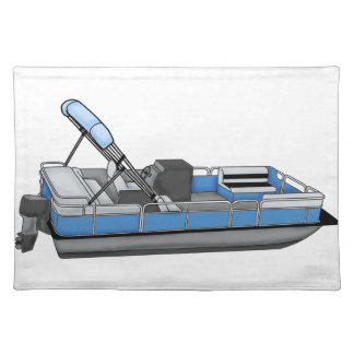 pontoon fun placemat