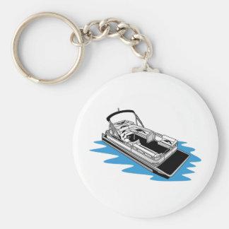 Pontoon Key Ring