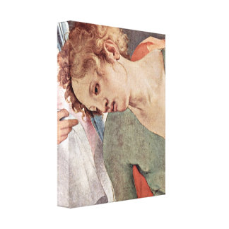 Pontormo - The Cross of Christ Detail Canvas Prints