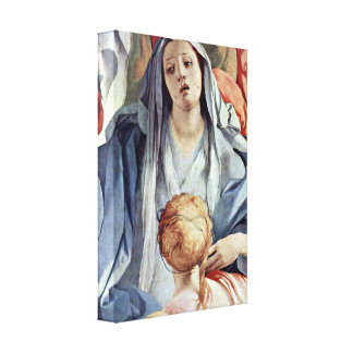 Pontormo - The Cross of Christ Detail Gallery Wrap Canvas