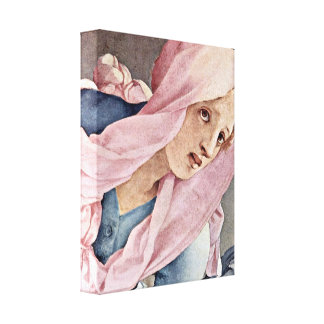 Pontormo - The Cross of Christ Detail Stretched Canvas Print