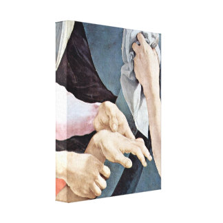 Pontormo - The Cross of Christ Detail Canvas Print