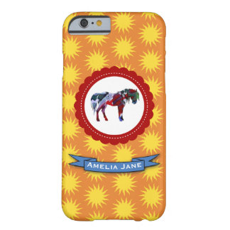 Pony and Sun Barely There iPhone 6 Case