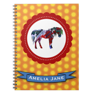 Pony and Sun Notebooks