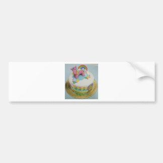 Pony cake 1 bumper sticker