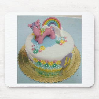 Pony cake 1 mouse pad