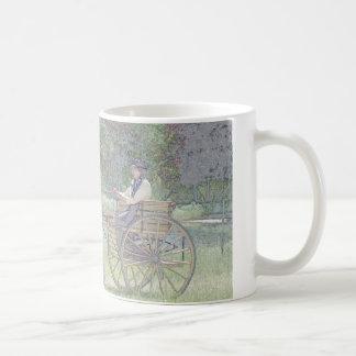 pony carriage coffee mug