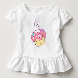 Pony Cupcake Toddler Girls' Ruffle Tee