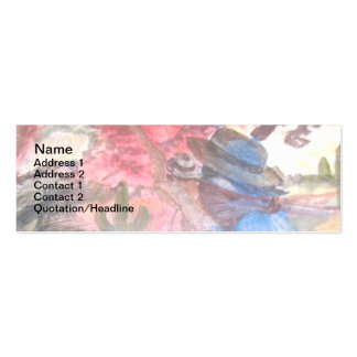 PONY EXPRESS AMERICANA BUSINESS CARD TEMPLATE